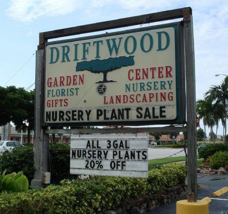 ... 20, Driftwood Garden Center